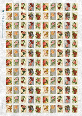 Stamps Roses