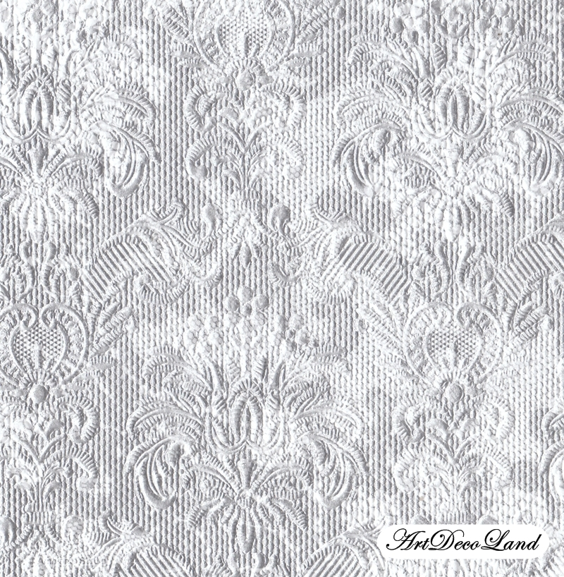 Embossed - Elegance Lace Silver