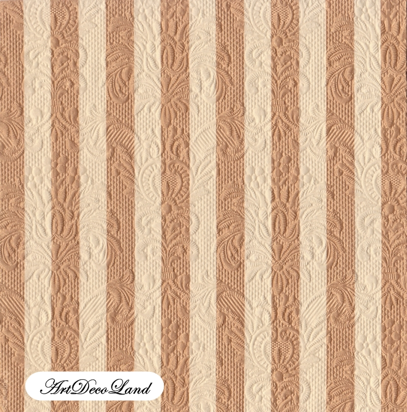Embossed Stripes - Bronze