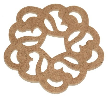 Ornament MDF - rotund 2