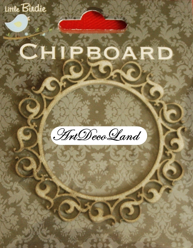 Chipboard - Rama rotunda