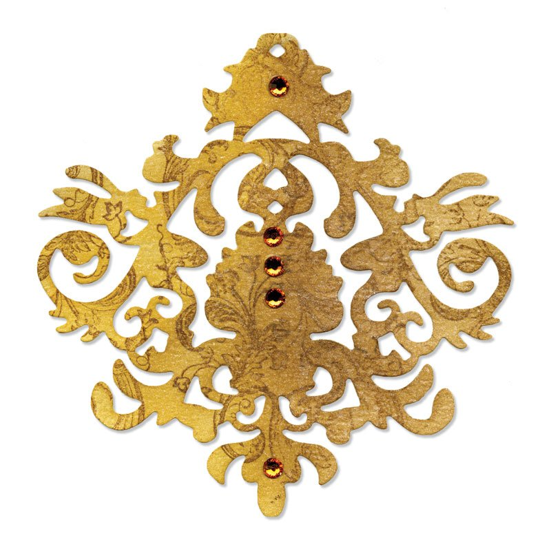 Cutter Sizzlits - Baroque Ornament