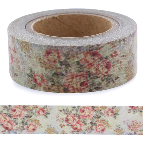 Washi Tape - Vintage Flowers