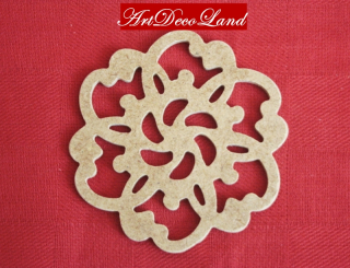 Ornament MDF - rotund 1