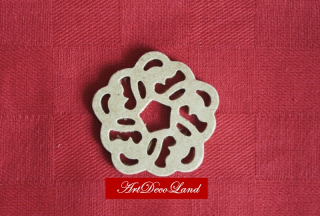 Ornament MDF - rotund 3