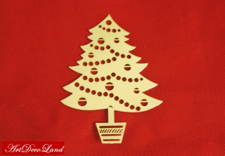 Sablon Sandy Art - Xmas Tree