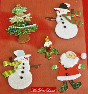 Deco sticker - Snowman and more