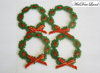 Deco sticker - Christmas Wreath