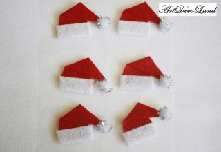 Deco sticker - Santa's Hat