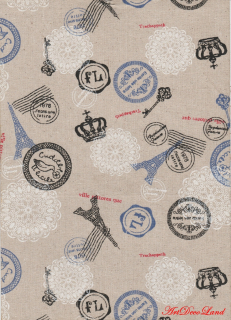 Sticker textil - Stamps