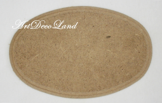 Suport MDF - oval mare