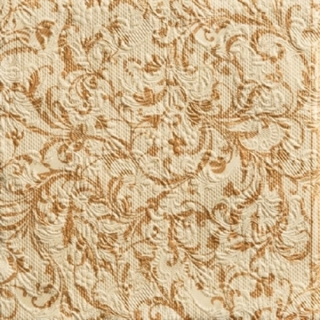 Elegance Damask Bronze - embossed