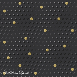 Inspiration Dots Black - embossed