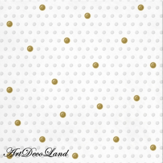 Inspiration Dots White - embossed