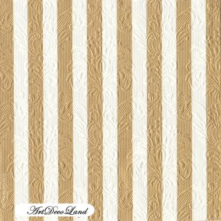 Embossed Stripes - Gold