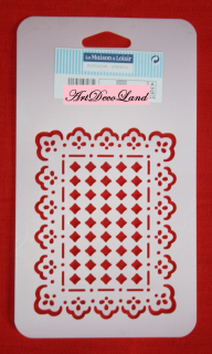 Sablon Flexibil 3D - Rectangle Doily