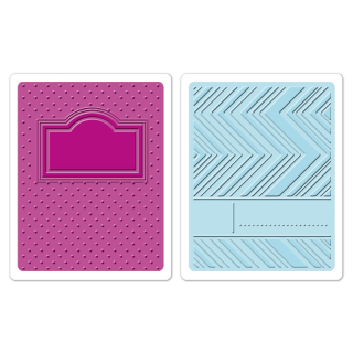 Set 2 placi embosare - Notebook Covers